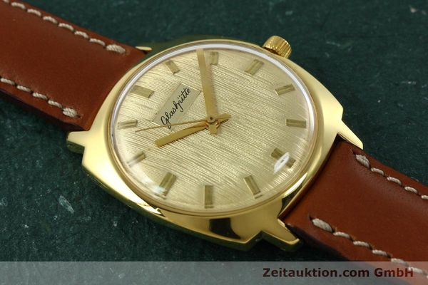 Used luxury watch Glashütte * gold-plated automatic Kal. 75  | 151018 11