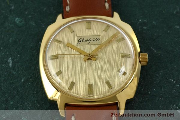 Used luxury watch Glashütte * gold-plated automatic Kal. 75  | 151018 12