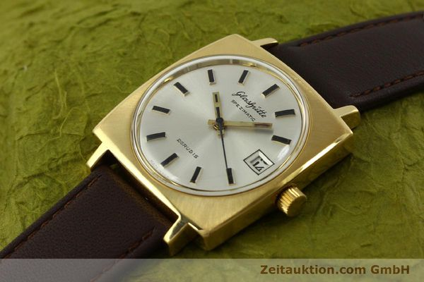 Used luxury watch Glashütte Spezimatic gold-plated automatic Kal. 75  | 151023 01