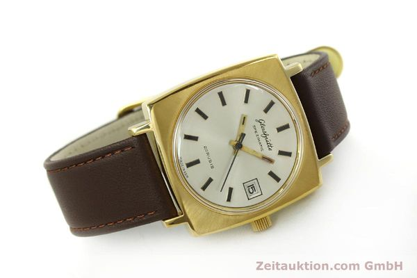 Used luxury watch Glashütte Spezimatic gold-plated automatic Kal. 75  | 151023 03