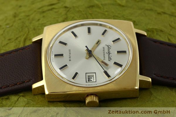 Used luxury watch Glashütte Spezimatic gold-plated automatic Kal. 75  | 151023 05