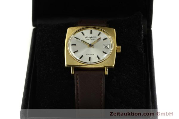 Used luxury watch Glashütte Spezimatic gold-plated automatic Kal. 75  | 151023 07