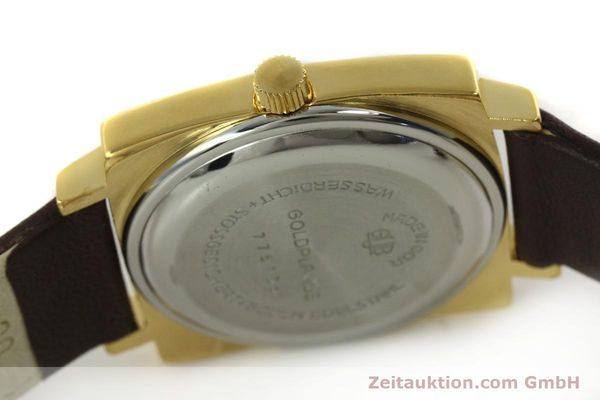Used luxury watch Glashütte Spezimatic gold-plated automatic Kal. 75  | 151023 08