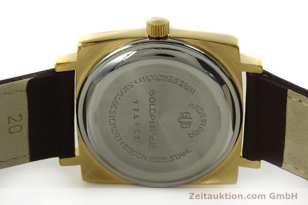 Used luxury watch Glashütte Spezimatic gold-plated automatic Kal. 75  | 151023 09