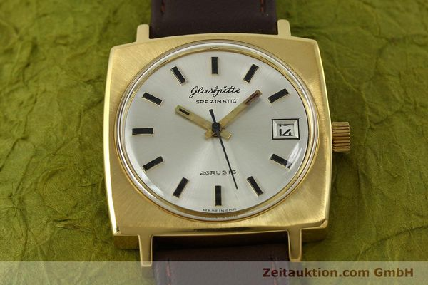 Used luxury watch Glashütte Spezimatic gold-plated automatic Kal. 75  | 151023 13