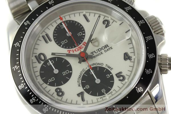 Used luxury watch Tudor Prince Date chronograph steel automatic Kal. ETA 7750 Ref. 79260P  | 151029 02