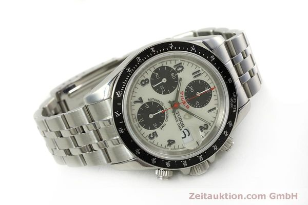 Used luxury watch Tudor Prince Date chronograph steel automatic Kal. ETA 7750 Ref. 79260P  | 151029 03