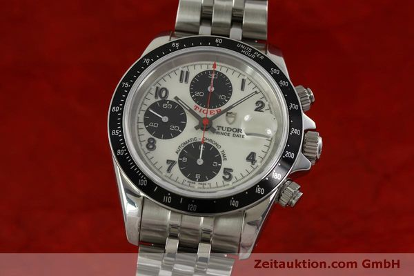 Used luxury watch Tudor Prince Date chronograph steel automatic Kal. ETA 7750 Ref. 79260P  | 151029 04