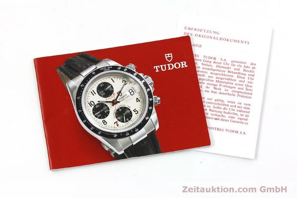 Used luxury watch Tudor Prince Date chronograph steel automatic Kal. ETA 7750 Ref. 79260P  | 151029 15