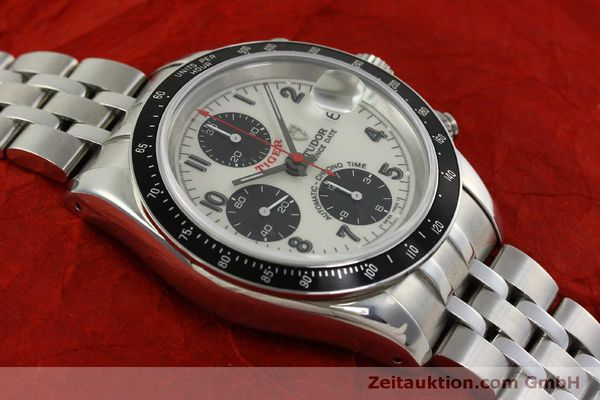 Used luxury watch Tudor Prince Date chronograph steel automatic Kal. ETA 7750 Ref. 79260P  | 151029 18