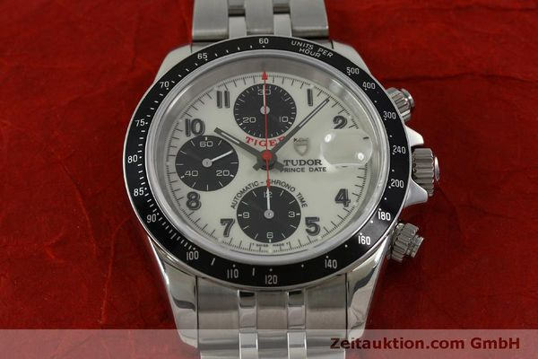 Used luxury watch Tudor Prince Date chronograph steel automatic Kal. ETA 7750 Ref. 79260P  | 151029 19