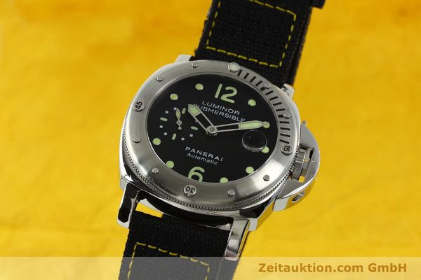 Used luxury watch Panerai Luminor  steel automatic Kal. ETA A05511 Ref. OP6561  | 151031 04