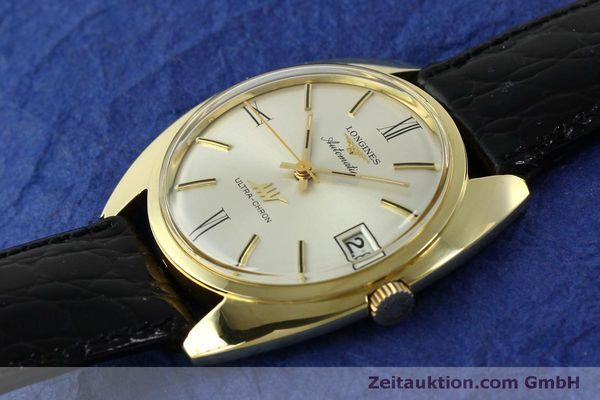 Used luxury watch Longines Ultra Chron 18 ct gold automatic Kal. 431 Ref. 8072-2  | 151033 01