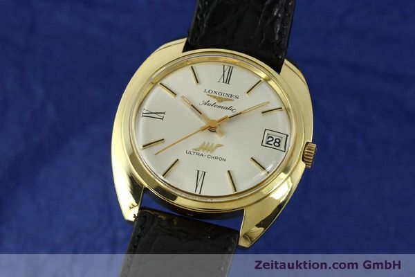 Used luxury watch Longines Ultra Chron 18 ct gold automatic Kal. 431 Ref. 8072-2  | 151033 04