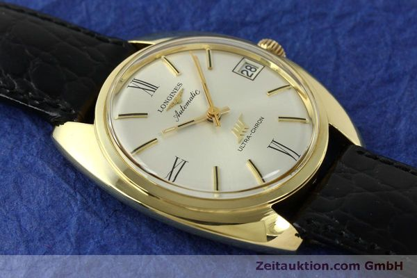 Used luxury watch Longines Ultra Chron 18 ct gold automatic Kal. 431 Ref. 8072-2  | 151033 13