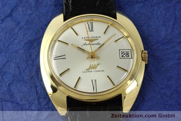 Used luxury watch Longines Ultra Chron 18 ct gold automatic Kal. 431 Ref. 8072-2  | 151033 14