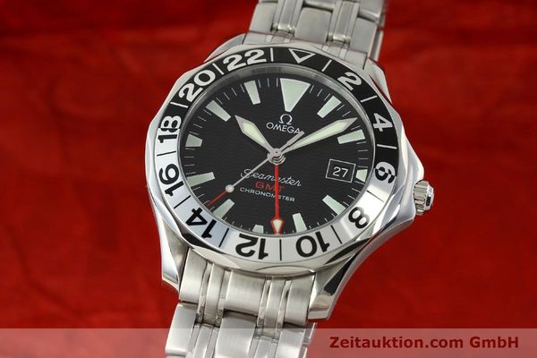 Used luxury watch Omega Seamaster steel automatic Kal. 1128 Ref. 168.1613  | 151037 04