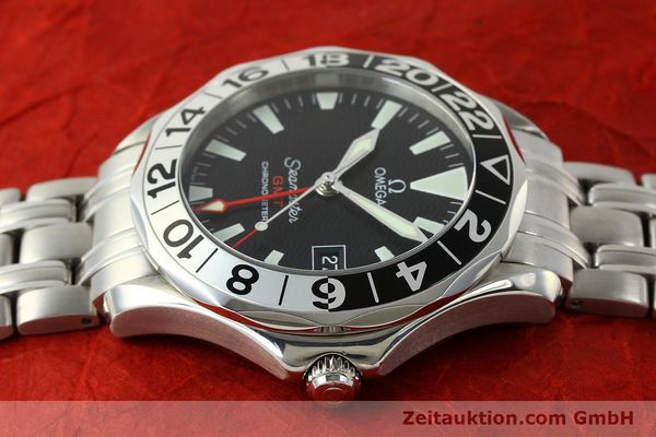 Used luxury watch Omega Seamaster steel automatic Kal. 1128 Ref. 168.1613  | 151037 05