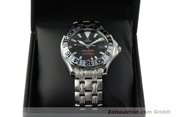 Used luxury watch Omega Seamaster steel automatic Kal. 1128 Ref. 168.1613  | 151037 07