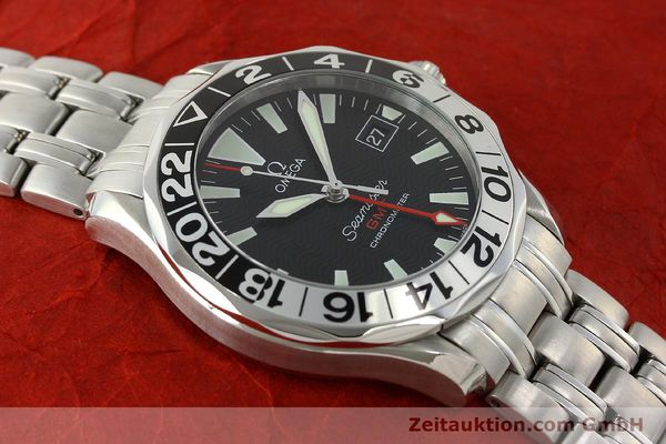Used luxury watch Omega Seamaster steel automatic Kal. 1128 Ref. 168.1613  | 151037 16