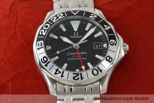 Used luxury watch Omega Seamaster steel automatic Kal. 1128 Ref. 168.1613  | 151037 17