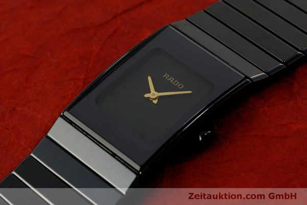 Used luxury watch Rado Diastar Ceramica ceramic / steel quartz Kal. ETA 976.001 Ref. 153.0349.3  | 151039 01