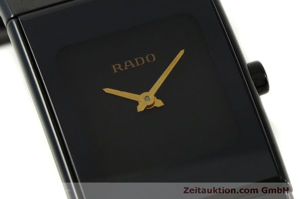 Used luxury watch Rado Diastar Ceramica ceramic / steel quartz Kal. ETA 976.001 Ref. 153.0349.3  | 151039 02