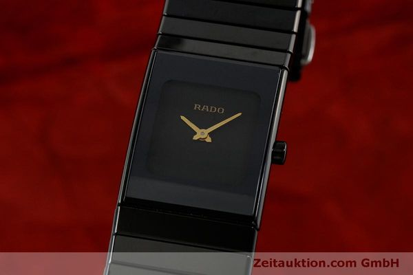 Used luxury watch Rado Diastar Ceramica ceramic / steel quartz Kal. ETA 976.001 Ref. 153.0349.3  | 151039 04