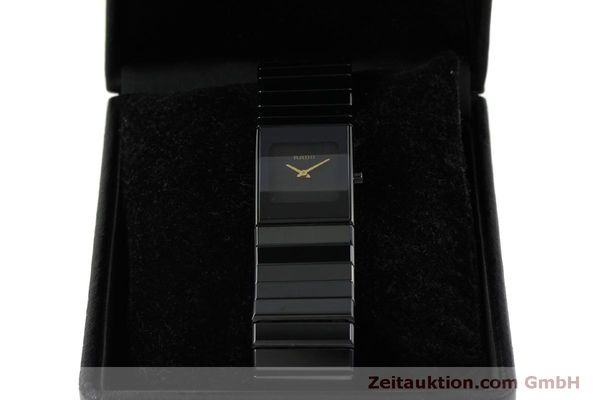 Used luxury watch Rado Diastar Ceramica ceramic / steel quartz Kal. ETA 976.001 Ref. 153.0349.3  | 151039 07