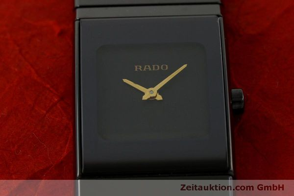 Used luxury watch Rado Diastar Ceramica ceramic / steel quartz Kal. ETA 976.001 Ref. 153.0349.3  | 151039 13