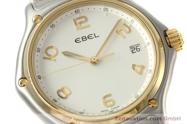 Used luxury watch Ebel 1911 steel / gold quartz Kal. 187-2 Ref. 1187241  | 151042 02
