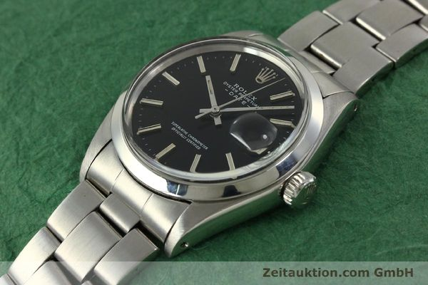Used luxury watch Rolex Date steel automatic Kal. 1570 Ref. 1500 VINTAGE  | 151044 01