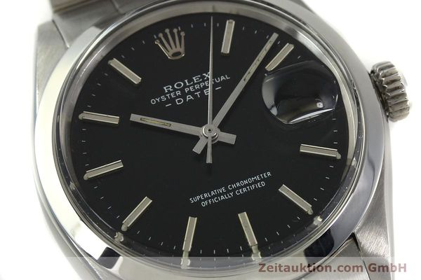 Used luxury watch Rolex Date steel automatic Kal. 1570 Ref. 1500 VINTAGE  | 151044 02