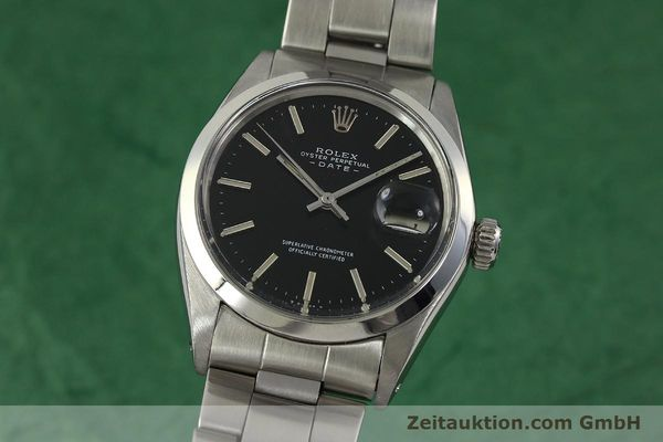 Used luxury watch Rolex Date steel automatic Kal. 1570 Ref. 1500 VINTAGE  | 151044 04