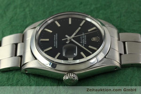 Used luxury watch Rolex Date steel automatic Kal. 1570 Ref. 1500 VINTAGE  | 151044 05
