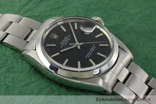 Used luxury watch Rolex Date steel automatic Kal. 1570 Ref. 1500 VINTAGE  | 151044 14
