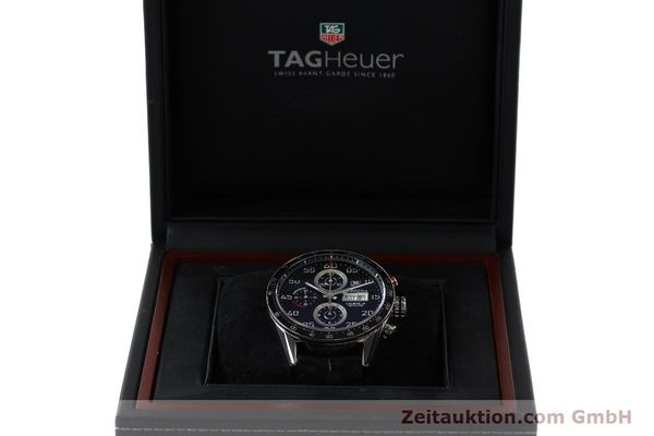 Used luxury watch Tag Heuer Carrera chronograph steel automatic Kal. 16 ETA 7750 Ref. CV2A10  | 151050 07