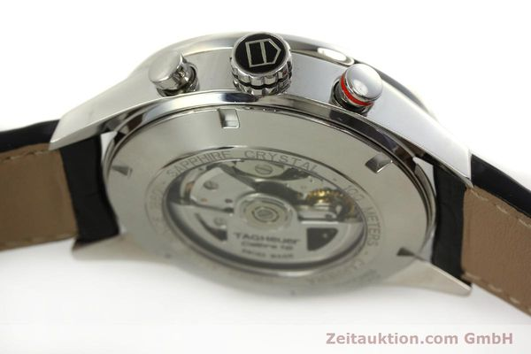 Used luxury watch Tag Heuer Carrera chronograph steel automatic Kal. 16 ETA 7750 Ref. CV2A10  | 151050 11