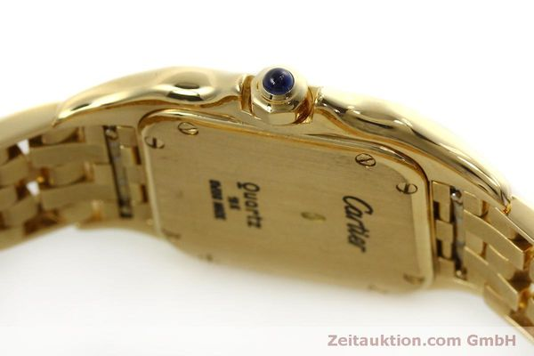 gebrauchte Luxusuhr Cartier Panthere 18k Gold Quarz Kal. 66  | 151056 08