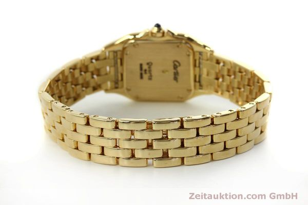 gebrauchte Luxusuhr Cartier Panthere 18k Gold Quarz Kal. 66  | 151056 10