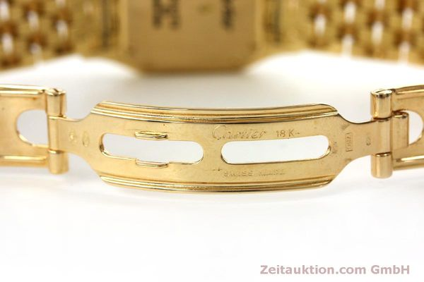 gebrauchte Luxusuhr Cartier Panthere 18k Gold Quarz Kal. 66  | 151056 11