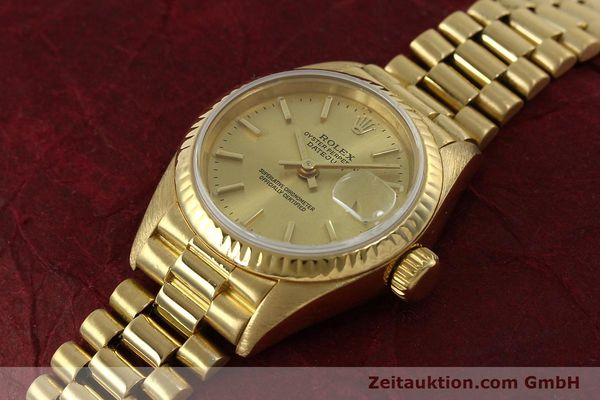 Used luxury watch Rolex Lady Datejust 18 ct gold automatic Kal. 2135 Ref. 69178  | 151057 01