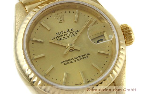 Used luxury watch Rolex Lady Datejust 18 ct gold automatic Kal. 2135 Ref. 69178  | 151057 02