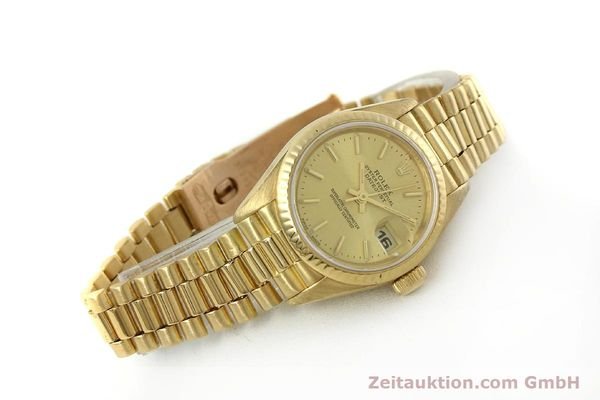 Used luxury watch Rolex Lady Datejust 18 ct gold automatic Kal. 2135 Ref. 69178  | 151057 03