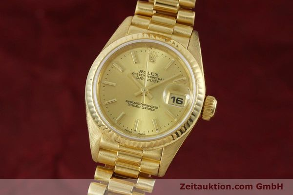 Used luxury watch Rolex Lady Datejust 18 ct gold automatic Kal. 2135 Ref. 69178  | 151057 04