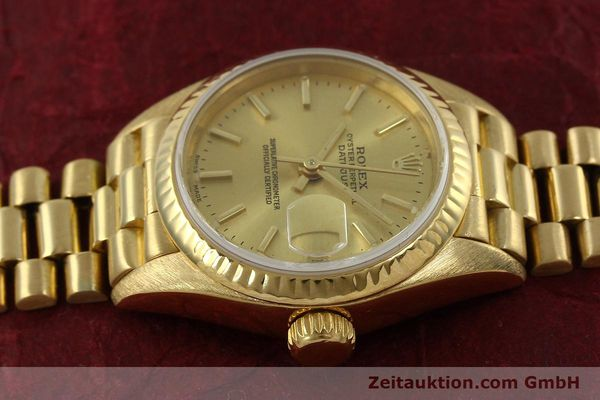 Used luxury watch Rolex Lady Datejust 18 ct gold automatic Kal. 2135 Ref. 69178  | 151057 05