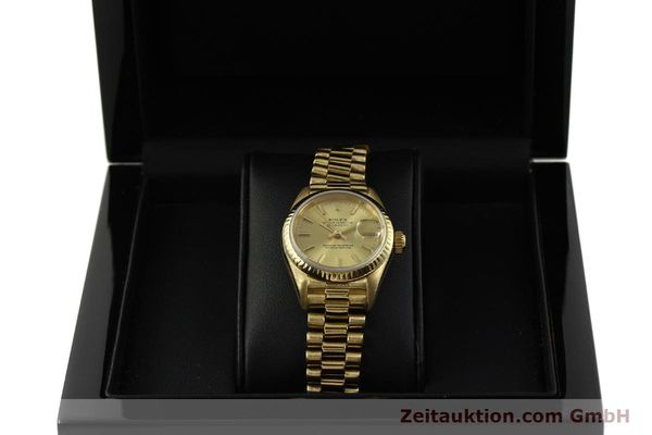 Used luxury watch Rolex Lady Datejust 18 ct gold automatic Kal. 2135 Ref. 69178  | 151057 07
