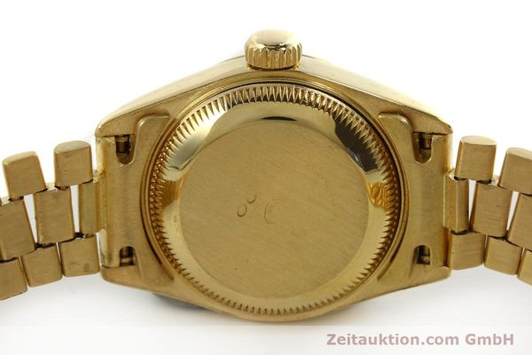 Used luxury watch Rolex Lady Datejust 18 ct gold automatic Kal. 2135 Ref. 69178  | 151057 08