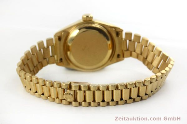 Used luxury watch Rolex Lady Datejust 18 ct gold automatic Kal. 2135 Ref. 69178  | 151057 12