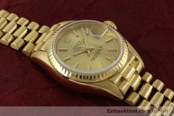 Used luxury watch Rolex Lady Datejust 18 ct gold automatic Kal. 2135 Ref. 69178  | 151057 16